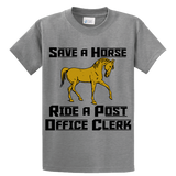 Save A Horse, Ride A Post Office Clerk - Zapbest2  - 5