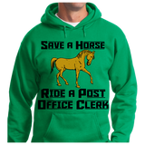 Save A Horse, Ride A Post Office Clerk - Zapbest2  - 6