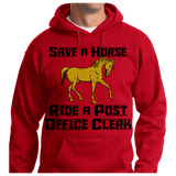 Save A Horse, Ride A Post Office Clerk - Zapbest2  - 7