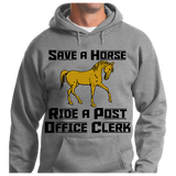 Save A Horse, Ride A Post Office Clerk - Zapbest2  - 8