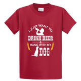 Drink Beer And Hang With My Dog - Zapbest2  - 2
