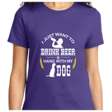 Drink Beer And Hang With My Dog - Zapbest2  - 10