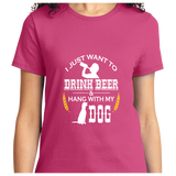 Drink Beer And Hang With My Dog - Zapbest2  - 11