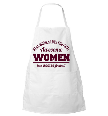 Awesome Aggies Woman Apron - Zapbest2