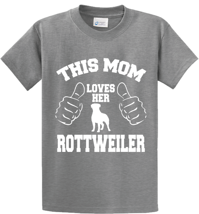 This Mom Loves Her Rottweiler - Zapbest2  - 4