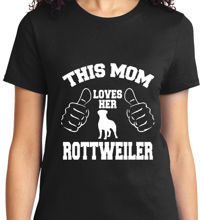 This Mom Loves Her Rottweiler