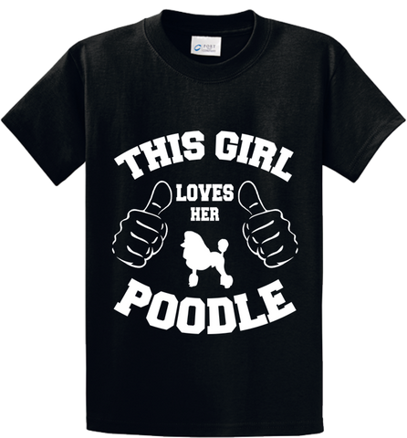 This Girl Loves Her Poodle - Zapbest2  - 1