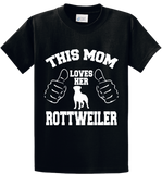 This Mom Loves Her Rottweiler - Zapbest2  - 1
