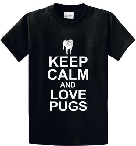 Keep Calm & Love Pugs - Zapbest2  - 1