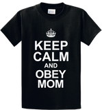 Keep Calm & Obey Mom - Zapbest2  - 1