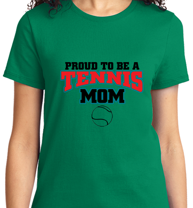 Proud To Be A Tennis Mom - Zapbest2  - 9