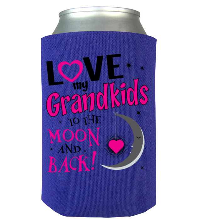 To The Moon And Back Can Koozie - Zapbest2