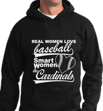 Real Women Love Base Ball, Smart Women Love Cardinals - Zapbest2  - 5