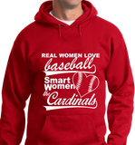 Real Women Love Base Ball, Smart Women Love Cardinals - Zapbest2  - 6