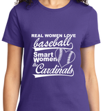 Real Women Love Base Ball, Smart Women Love Cardinals - Zapbest2  - 10