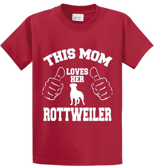 This Mom Loves Her Rottweiler - Zapbest2  - 2
