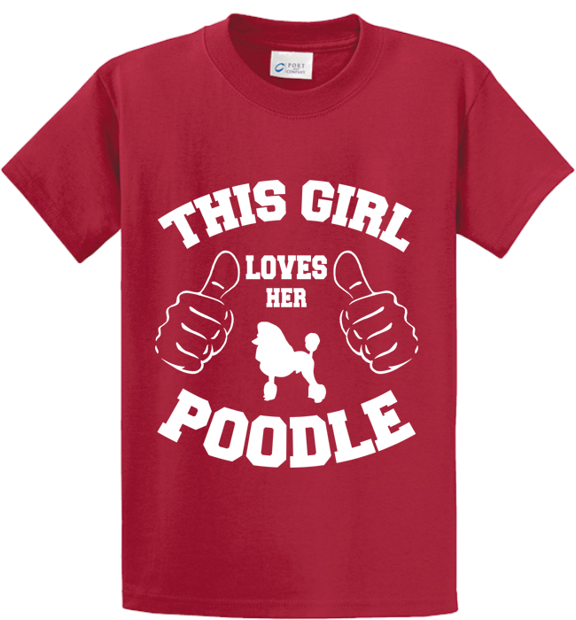 This Girl Loves Her Poodle - Zapbest2  - 2