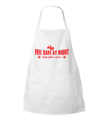 Sleep With A Nurse Apron - Zapbest2