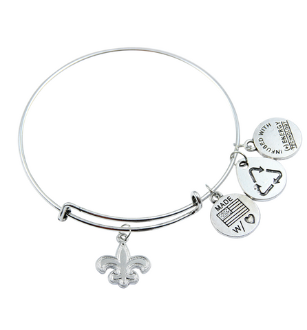 Saints Bangle Bracelet - Zapbest2