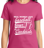 Real Women Love Base Ball, Smart Women Love Cardinals - Zapbest2  - 11