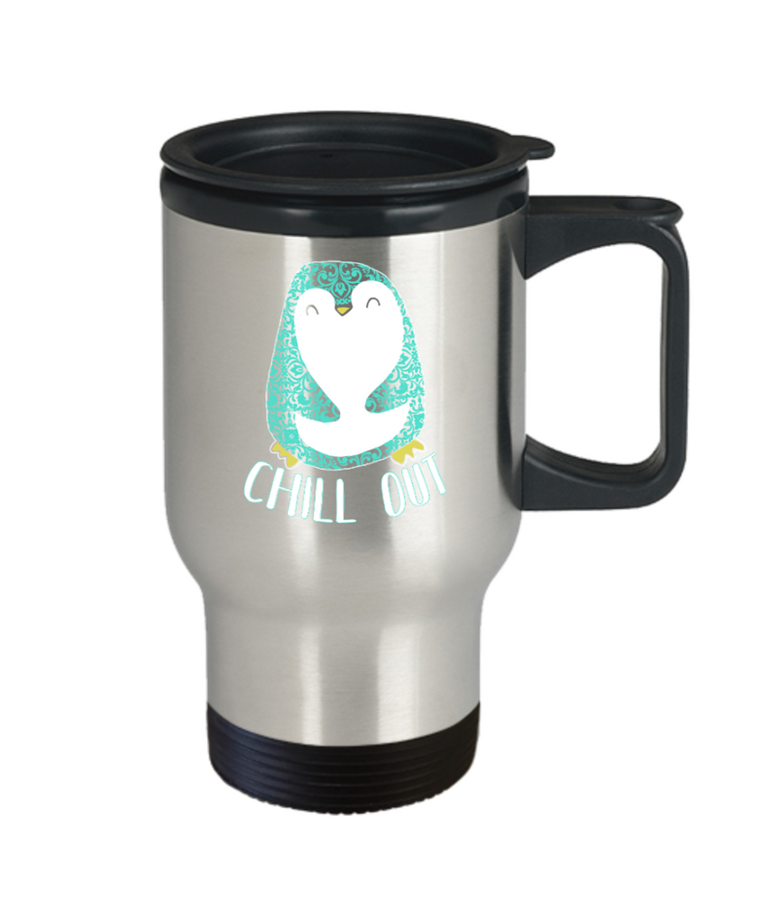 Chill out - Stainless Steel Travel Insulated Tumblers Mug 14 oz - Great Gift