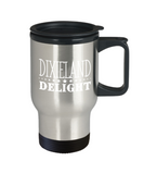 Dixieland Delight - Stainless Steel Travel Insulated Tumblers Mug 14 oz - Great Gift