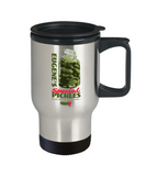 Plants vs zombies gift box mugs , Eugene's Pickles - Stainless Steel Travel Insulated Tumblers Mug 14 oz - Great Gift