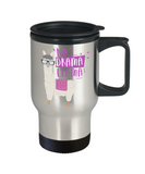 No Drama Llama Coffee Mug--Travel Coffee Mug 14 oz