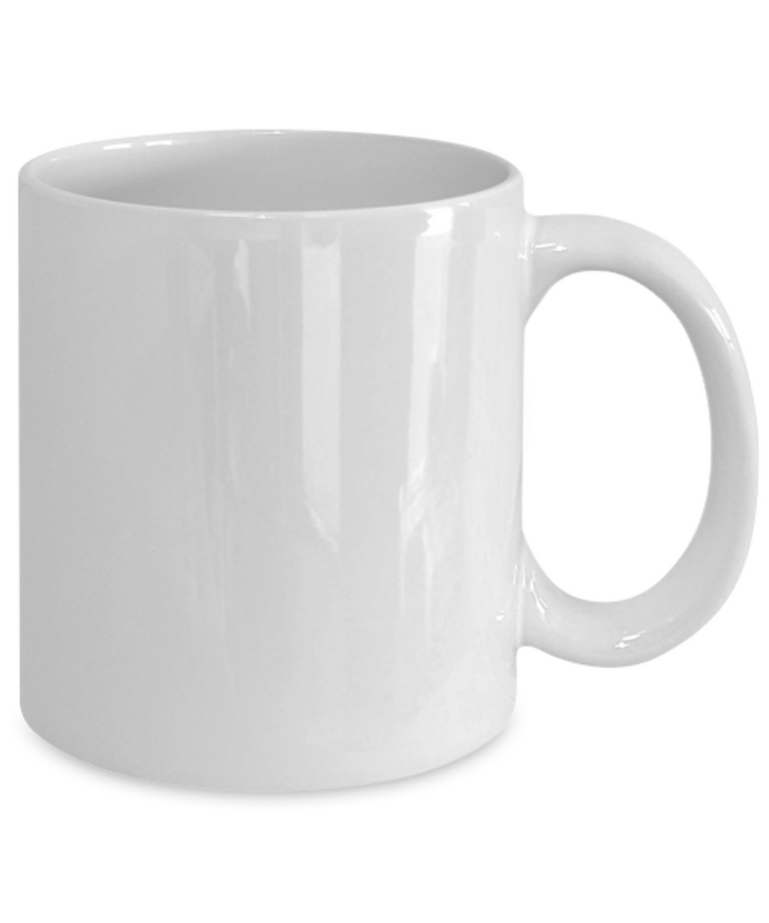 Archivist Mug - Fueled by coffee - Christmas Gifts - Porcelain Funny White coffee mugs 11 oz