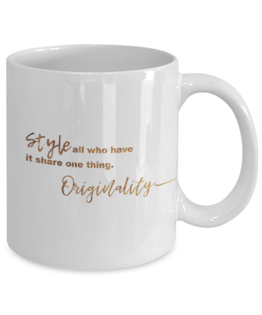 Get well mugs for women , Style Originality - White Coffee Mug Tea Cup 11 oz Gift