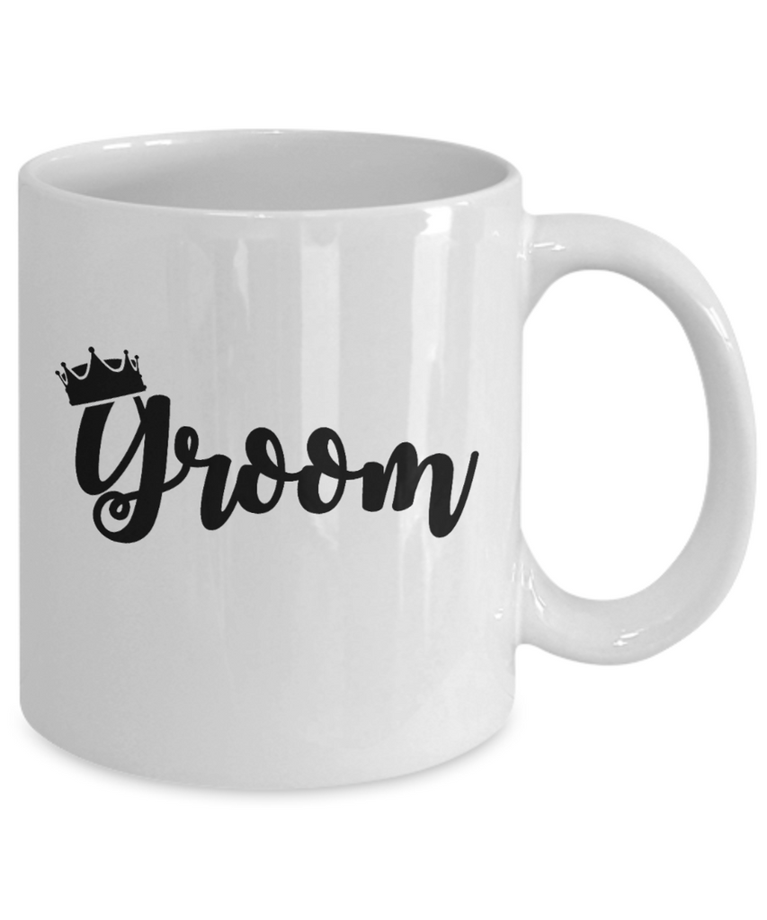 Groom Gifts mugs, Groom - White Coffee Mug Tea Cup 11 oz Gift