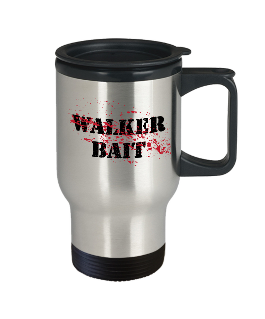 Plants vs zombies gift box mugs , Walker Bait - Stainless Steel Travel Insulated Tumblers Mug 14 oz - Great Gift