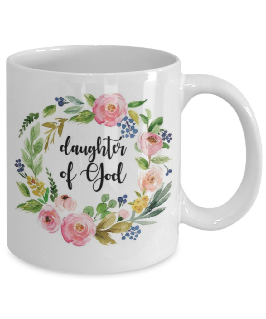 Proverbs Bible quotes , Daughter of god - White Coffee Mug Tea Cup 11 oz Gift