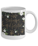 Scripture mugs for women , Be happy and positive - White Coffee Mug Tea Cup 11 oz Gift