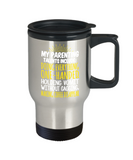 Parents Gifts Mugs , Parenting Talents - Stainless Steel Travel Insulated Tumblers Mug 14 oz - Great Gift