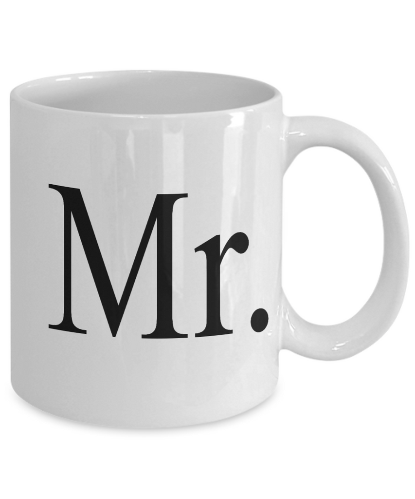 We vibe anniversary, Mr. - White Coffee Mug Tea Cup 11 oz Gift