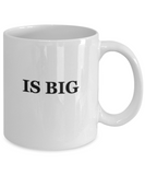 My God is Big 11 OZ Coffee Mugs Tea Cups Prayer Inspirational Happy Mugs Gift Ideas