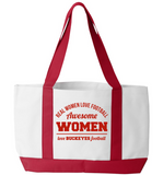 Awesome Buckeyes Woman Tote Bag - Zapbest2
