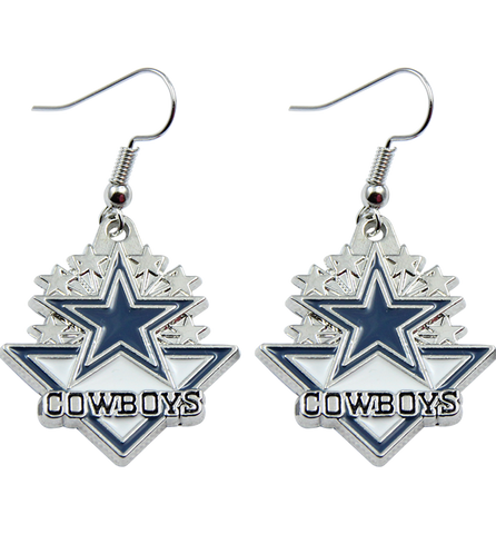 Cowboys Earrings - Zapbest2