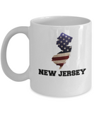 I Love New Jersey Coffee Mugs Coffee mug sets - 11 Oz State Love Gift Idea Tea Cup Funny
