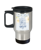 Bible gifts quotes mugs , Hope for a future - Stainless Steel Travel Insulated Tumblers Mug 14 oz - Great Gift