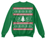 Christmas Bulldog Ugly Sweater - Zapbest2  - 6