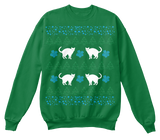 Christmas Funny Cat Ugly Sweater - Zapbest2  - 6