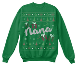 Christmas Nana Ugly Sweater - Zapbest2  - 6