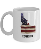 I Love Idaho Coffee Mugs Coffee mug sets - 11 Oz State Love Gift Idea Tea Cup Funny