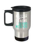 Music Lovers Mugs , Do Re Me - Stainless Steel Travel Insulated Tumblers Mug 14 oz - Great Gift