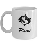 Pisces - Pisces Coffee Mug - Pisces Zodiac Mug - Zodiac 14 oz Travel mugs