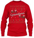 Christmas Grandma Ugly Sweater - Zapbest2  - 9