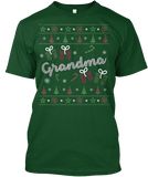 Christmas Grandma Ugly Sweater - Zapbest2  - 4