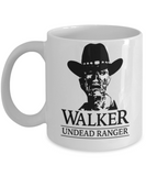 Plants vs zombies gift box mugs , Walker Undead Ranger - White Coffee Mug Porcelain Tea Cup 11 oz - Great Gift